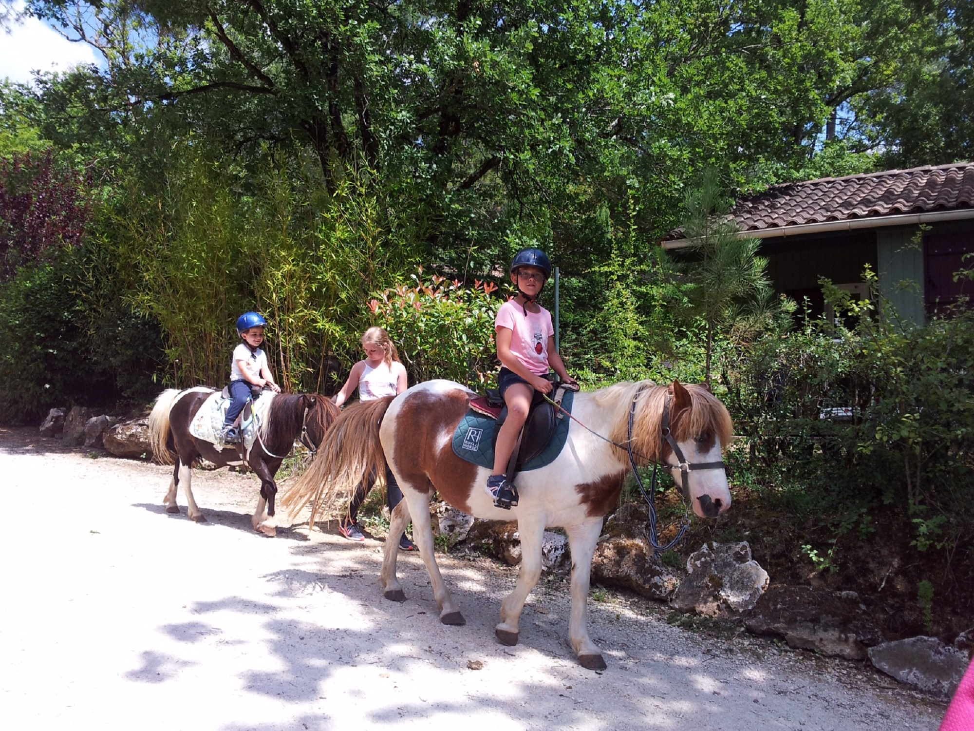Animation poney dans le village