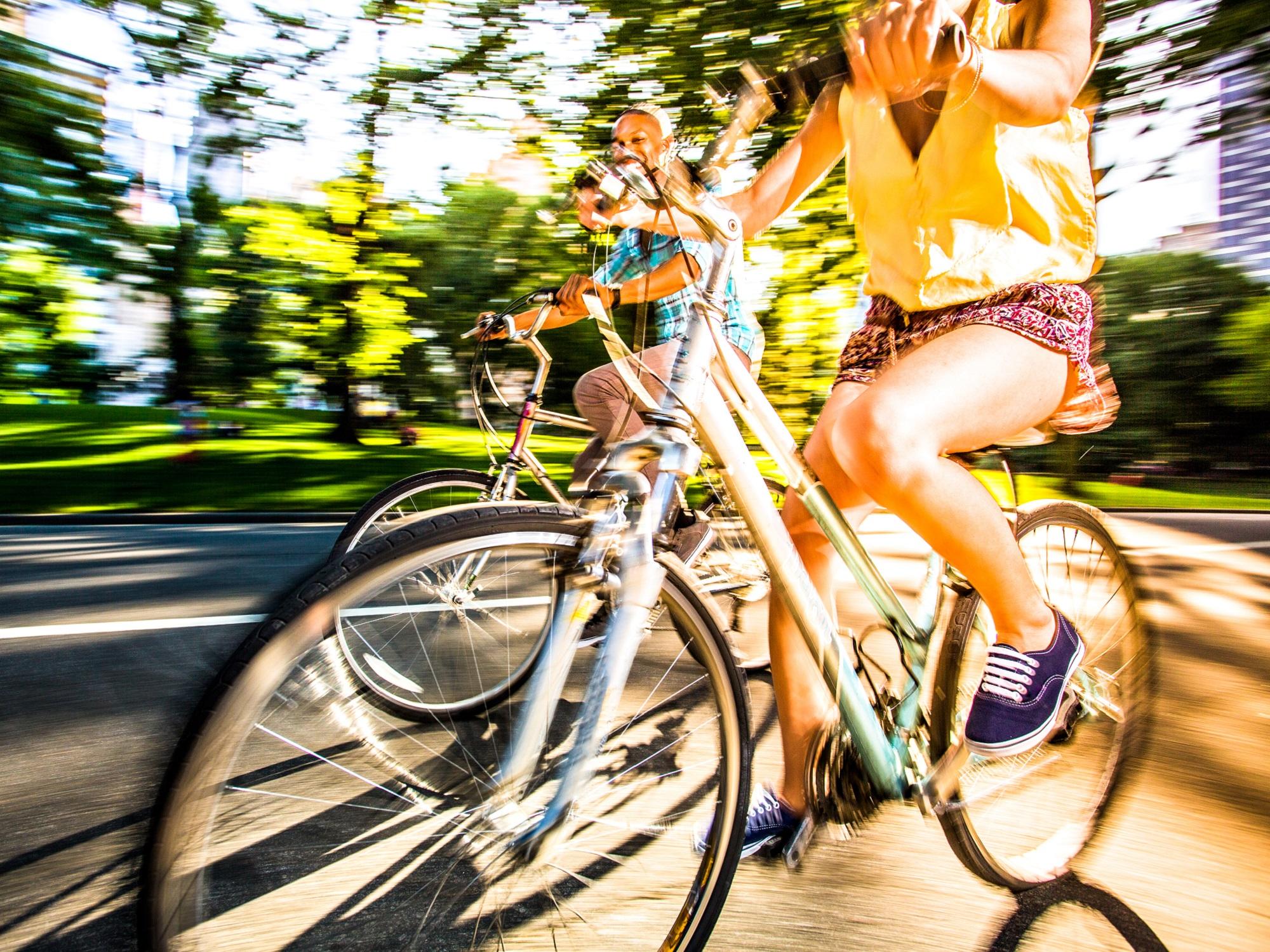 Découverte à vélo